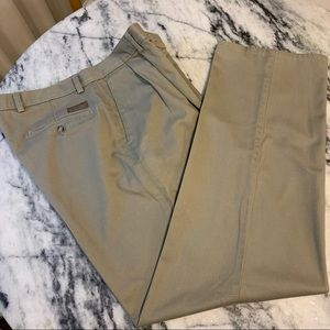 🟡2/$10🟡 men's Haggar khaki pleated pants